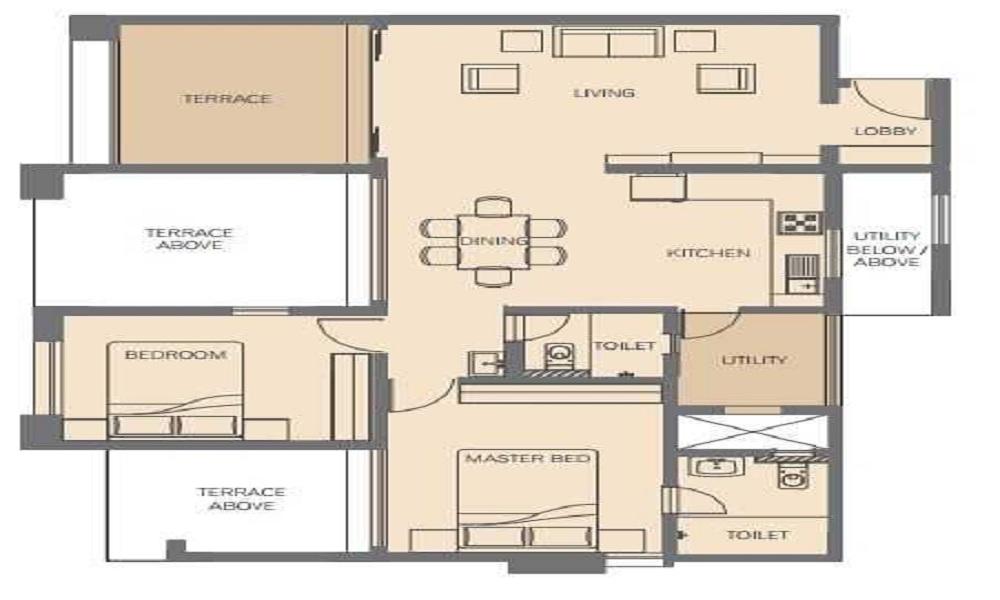 Rohan Tarang Floor Plan