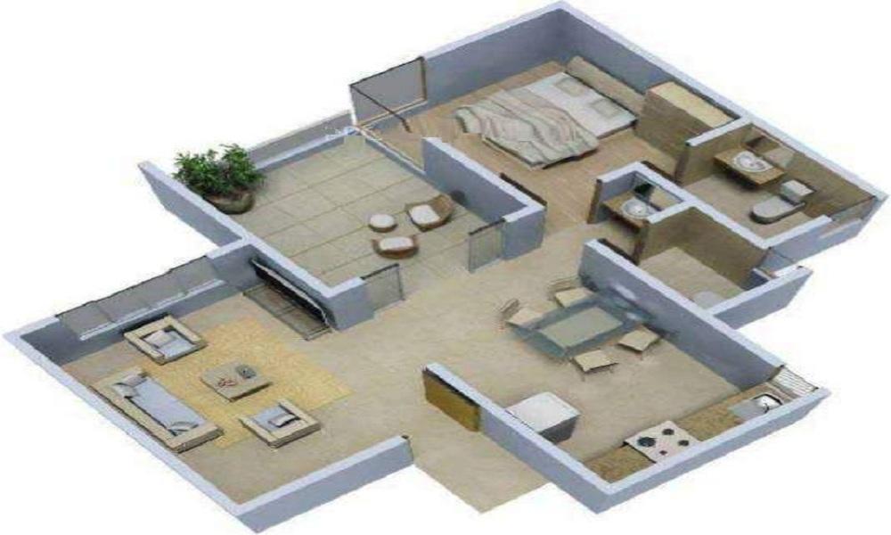 Rohan Mithila Floor Plan