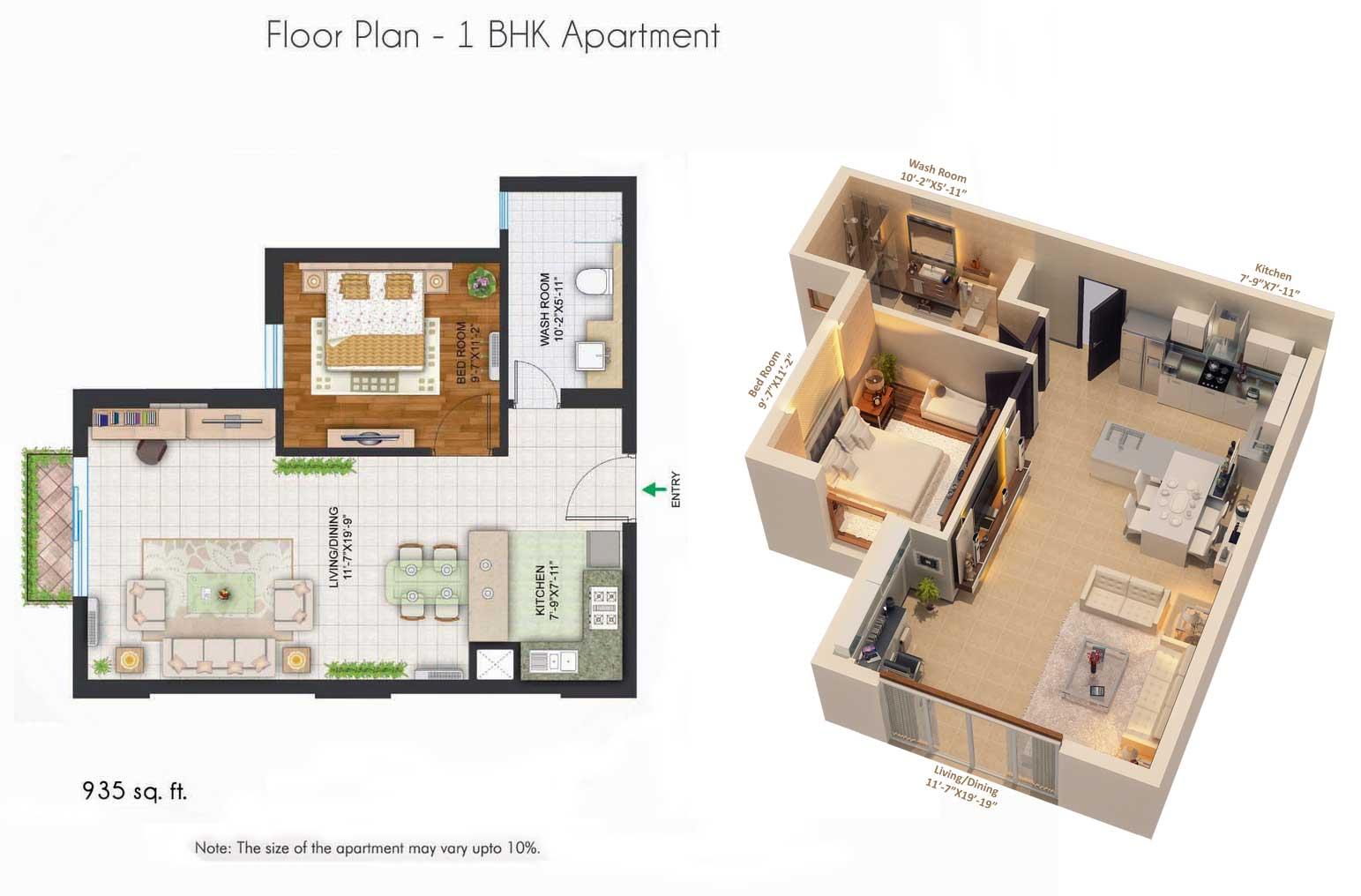 Bhakti Pearl Floor Plan