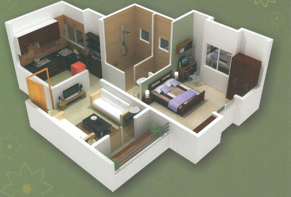 Ashwamedh Apex Floor Plan