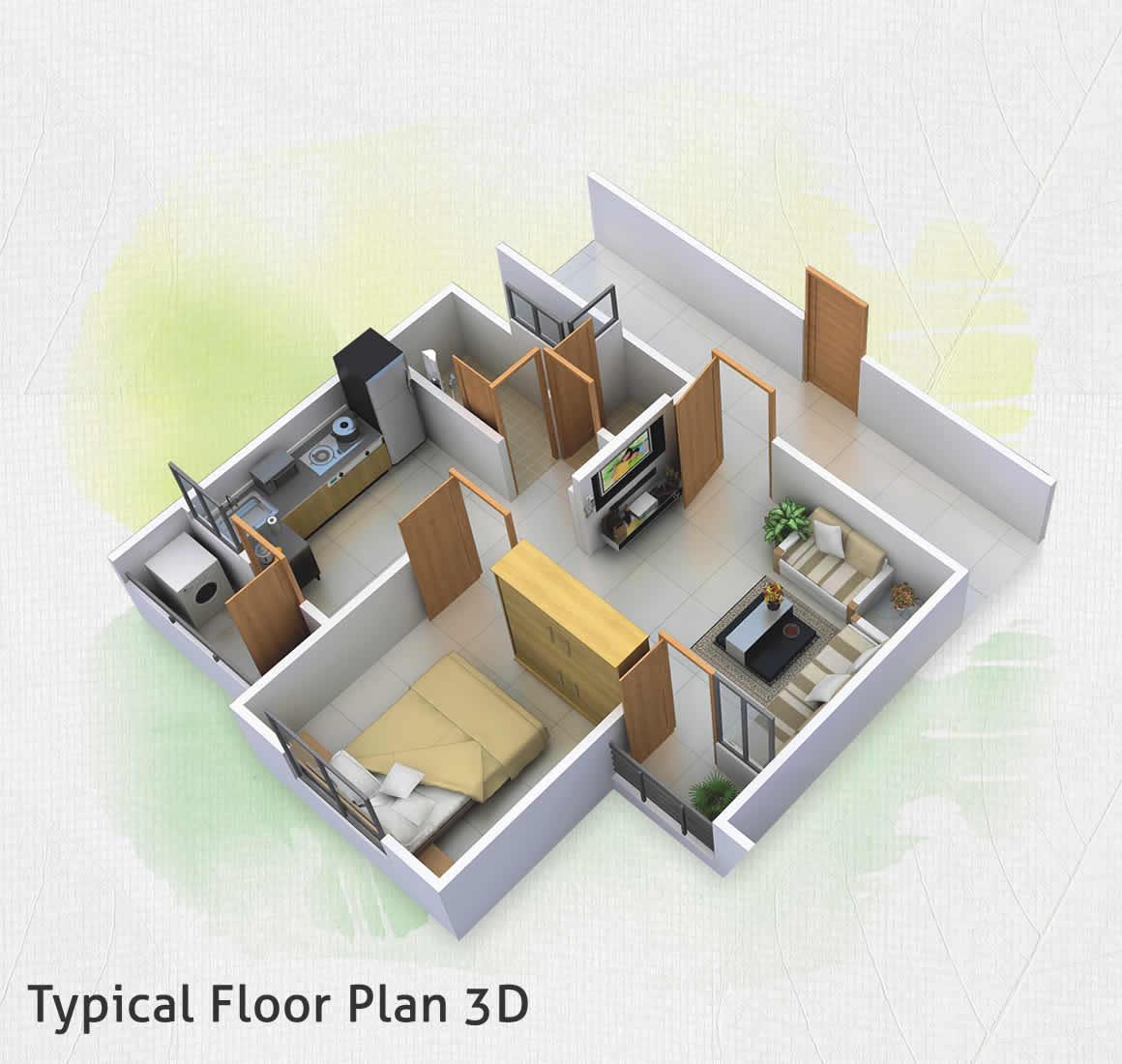 Hiranandani Estate Brentford Floor Plan