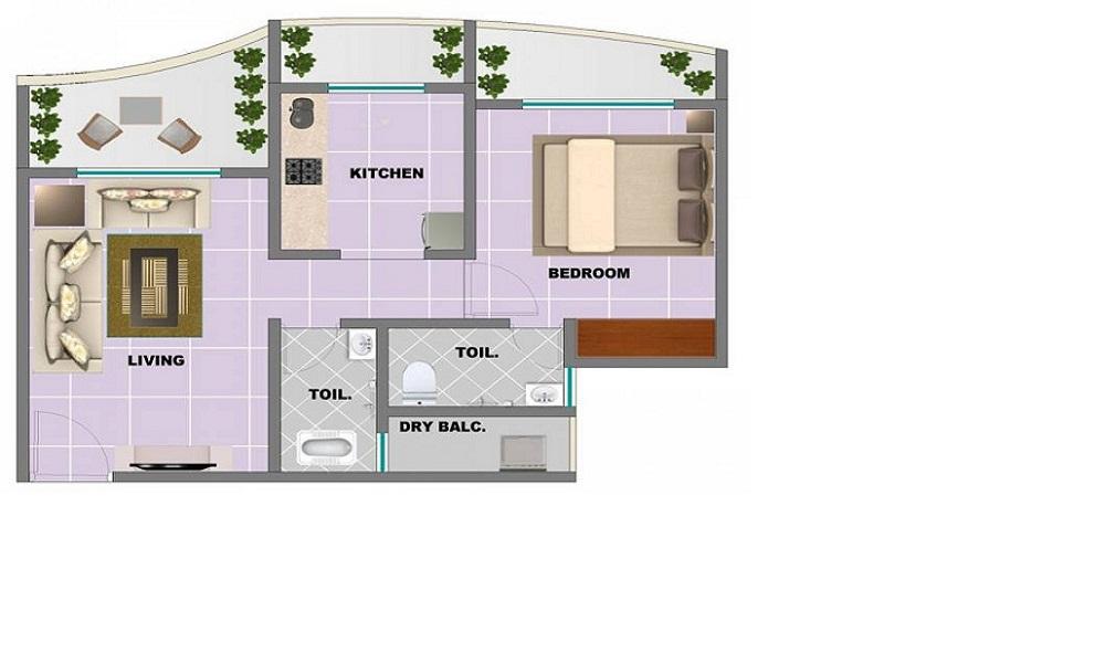 Balaji Trinity Royale Floor Plan