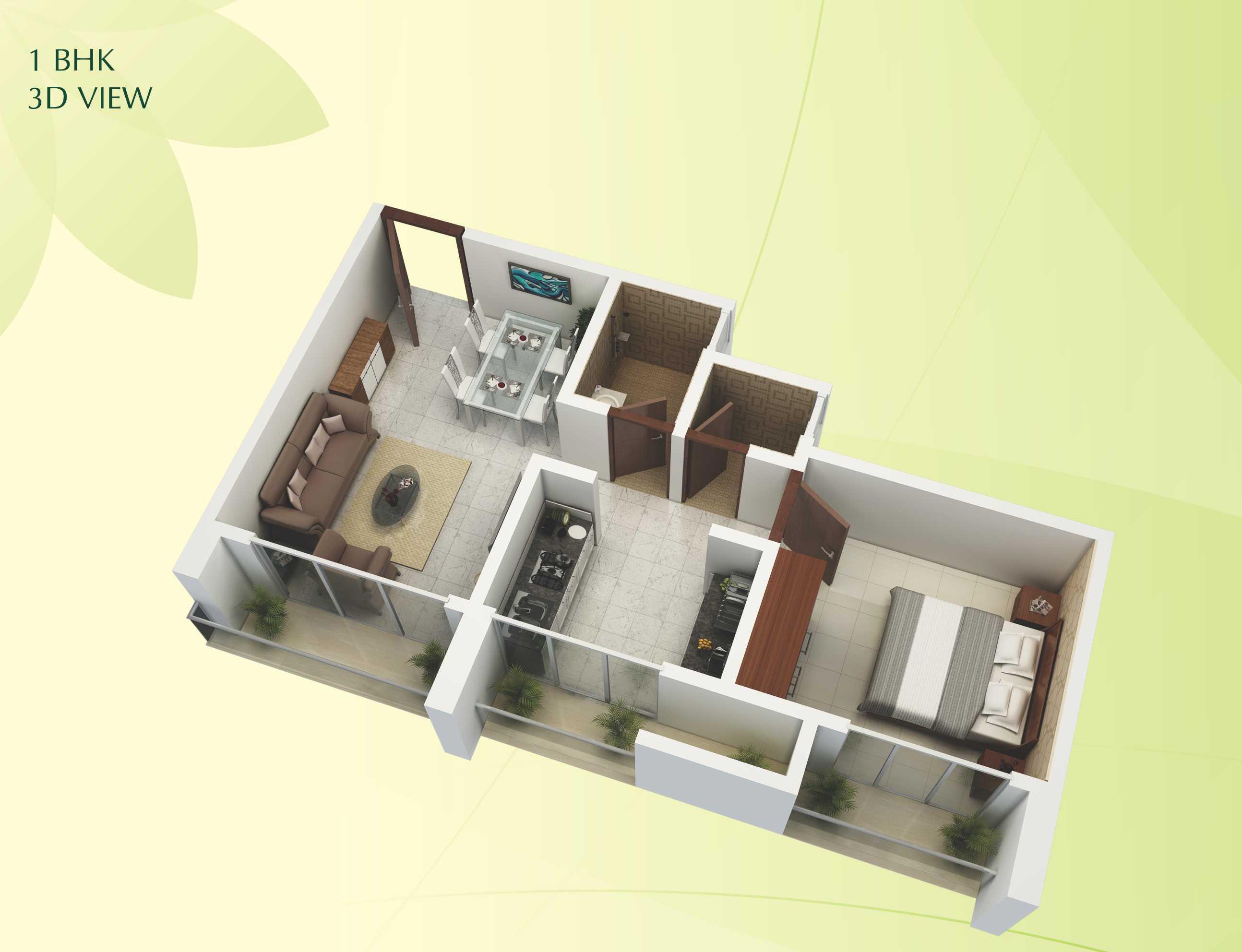 Viva Vishnupuram Floor Plan