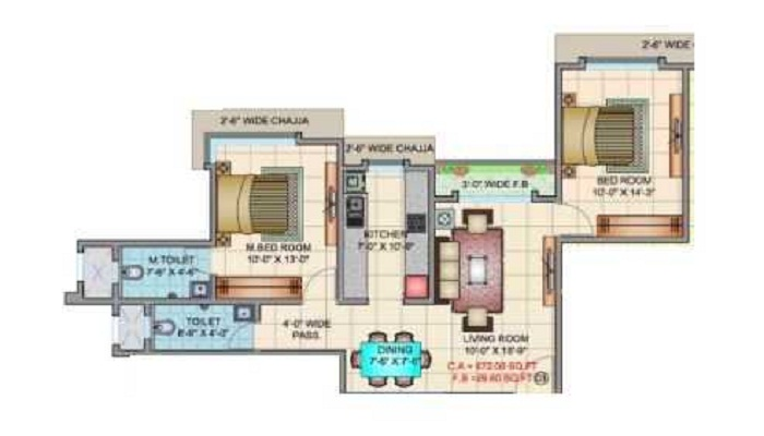 SMGK Kalaniketan Floor Plan