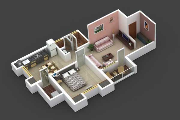 Vardhaman Shivam Enclave Floor Plan