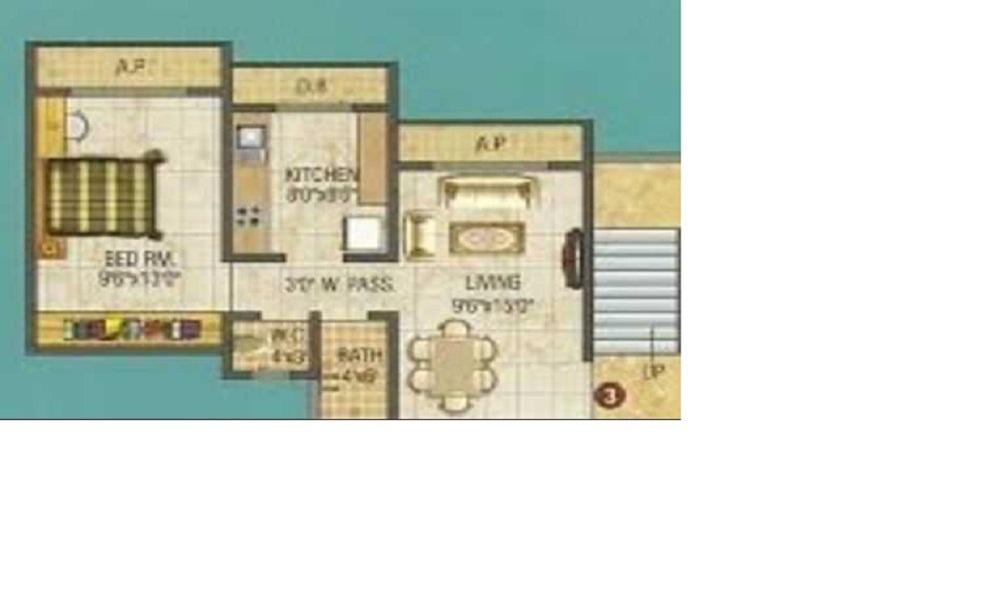 Thanekar Bhagirathi Galaxy Floor Plan