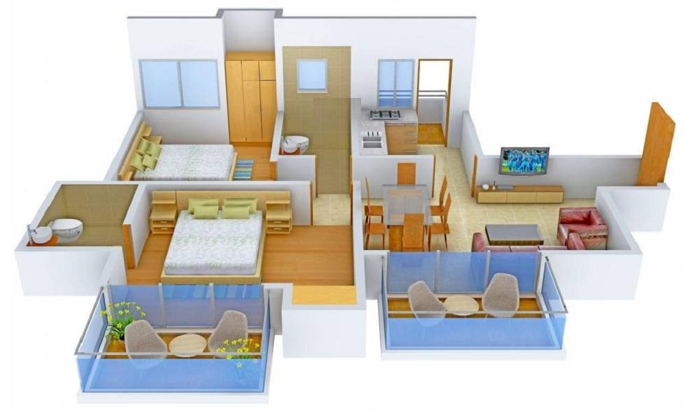 Hiranandani Elysium Floor Plan