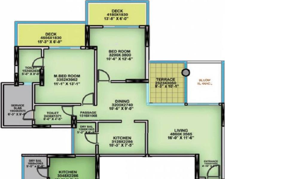 Nahar Yvonne Floor Plan