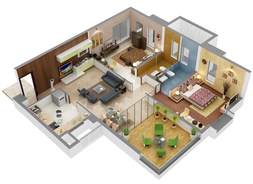 Deepali Sai Shraddha Floor Plan