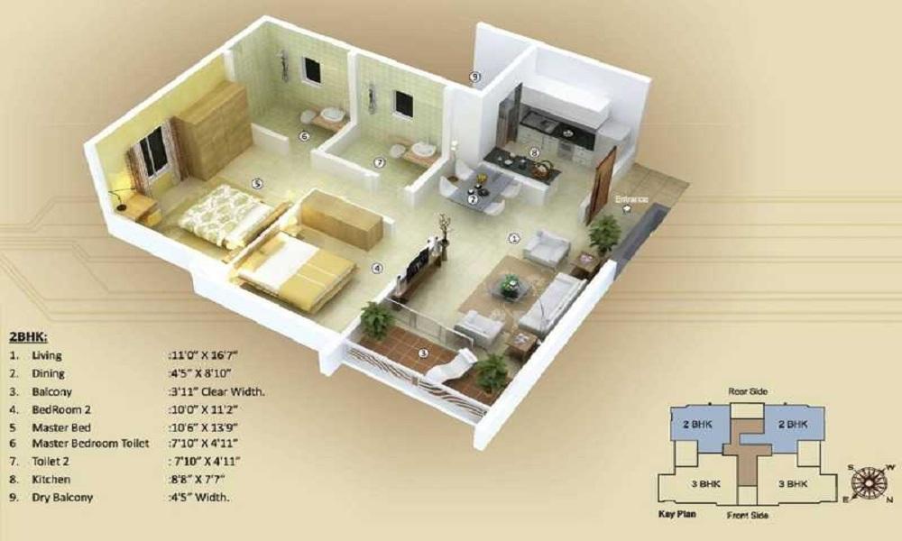 Vascon Xotech Floor Plan