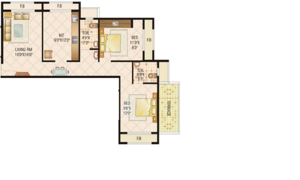 JP Samant Heritage Floor Plan