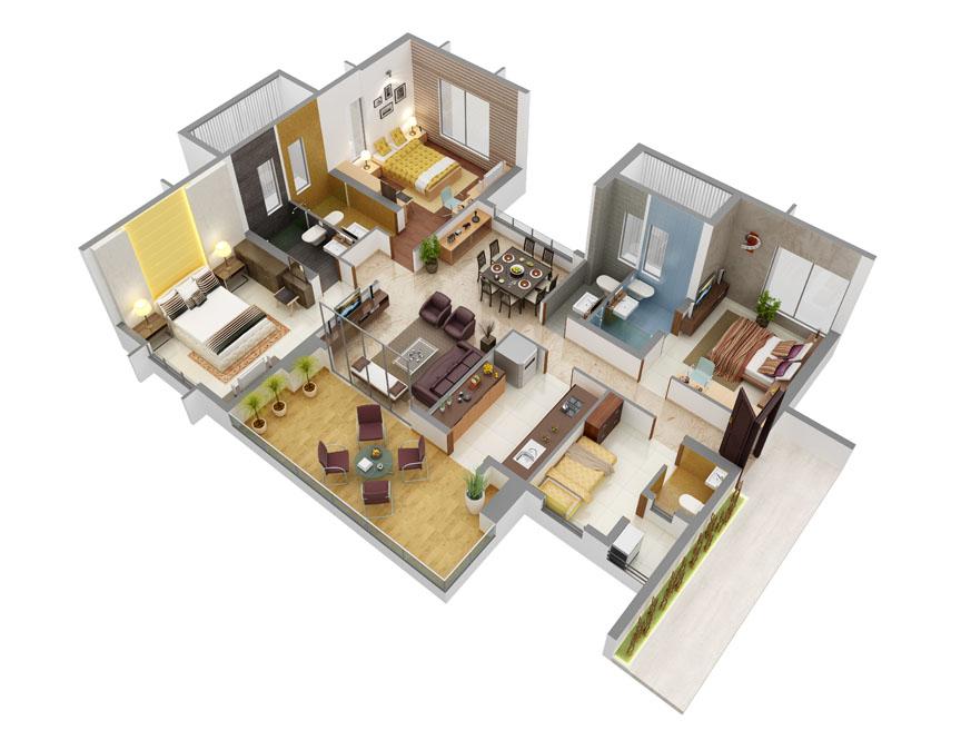 Hiranandavi Rodas Enclave Rosehill Floor Plan