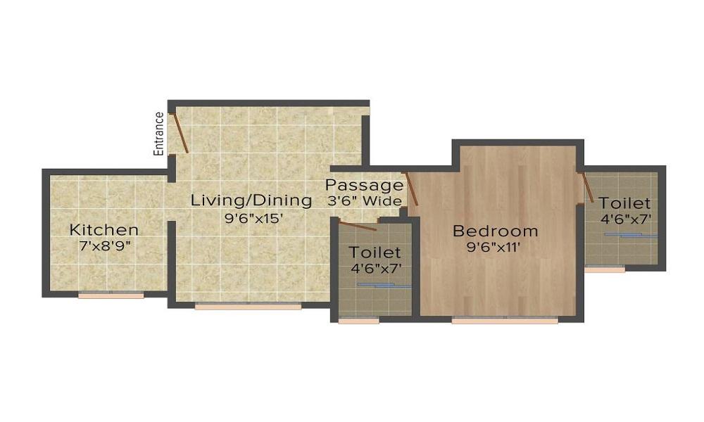Hiranandani Estate Lavinia Floor Plan