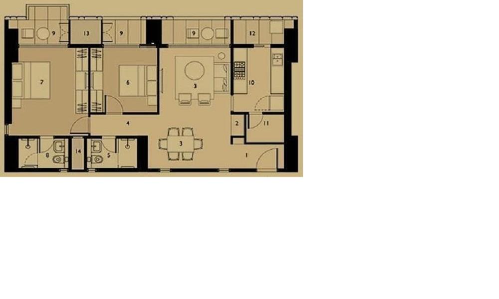 Lodha Dioro Floor Plan