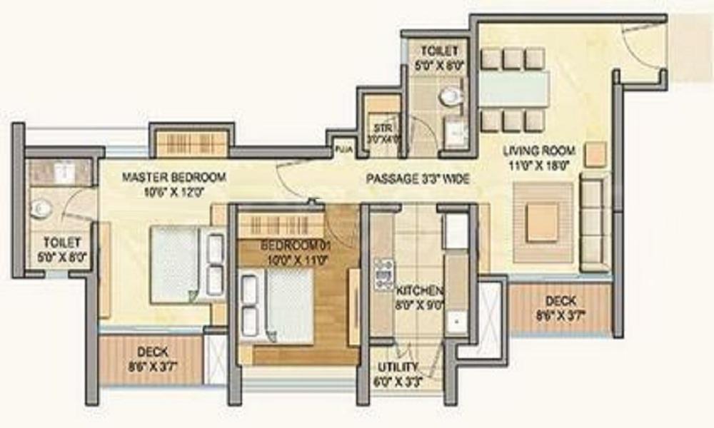Lodha Celestia Floor Plan