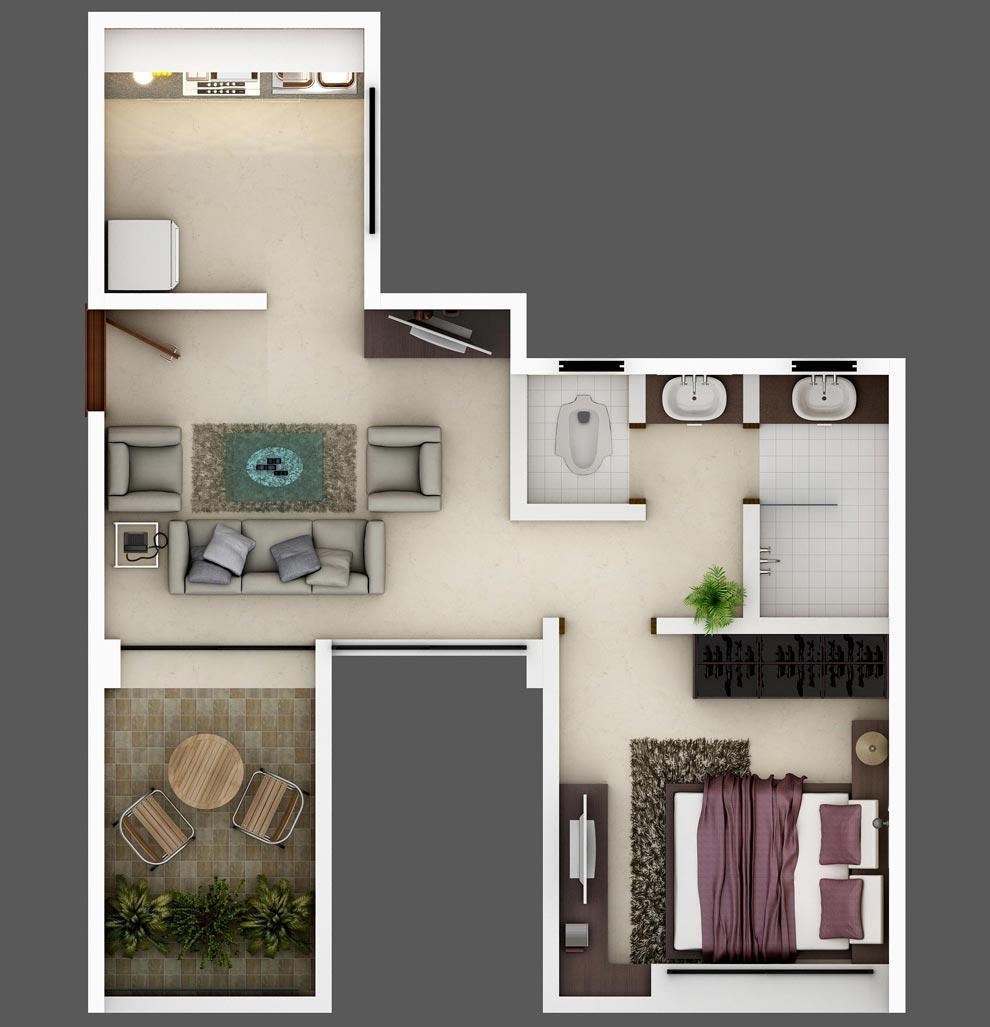 Lodha Casa Rio Gold Floor Plan