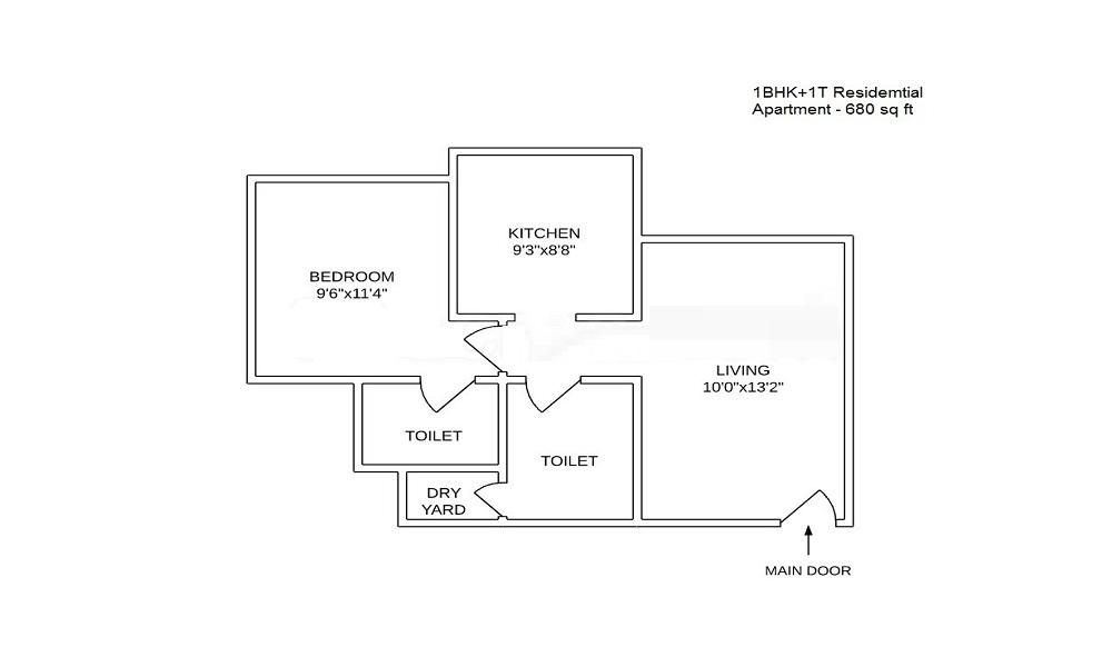 Atlanta Enclave Floor Plan