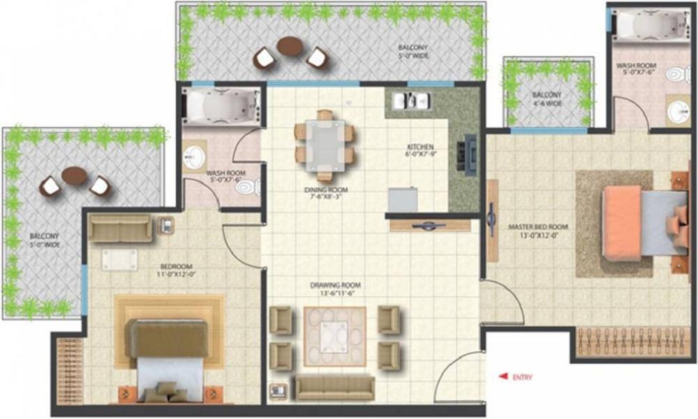 Saya Zenith Floor Plan