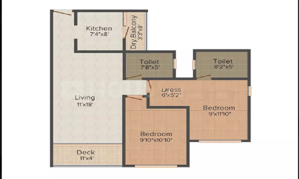 AO F Residences Mulund Floor Plan