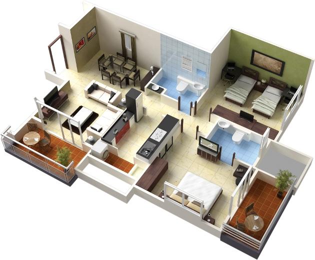 Devkrupa Patel Paradise Floor Plan
