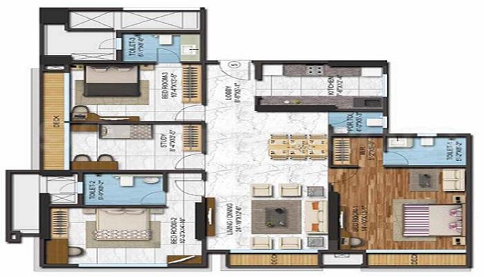 Adani Western Heights Floor Plan