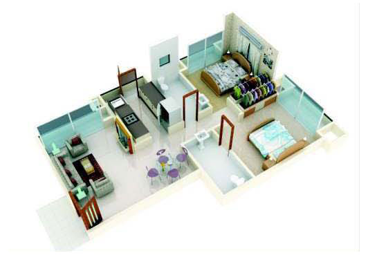 Lodha The Park Floor Plan