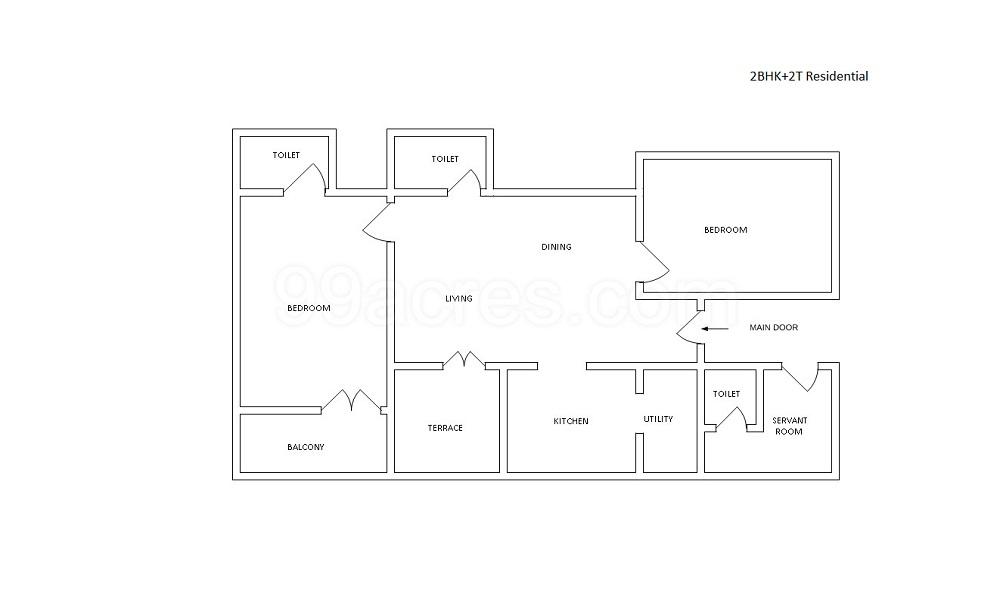 Shipra Riviera Floor Plan