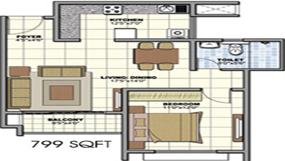 Nyati Elan Floor Plan