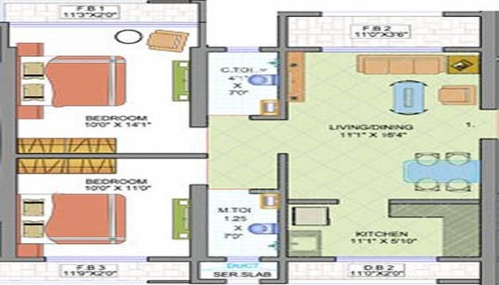Surya Gokul Nagri 2 Floor Plan