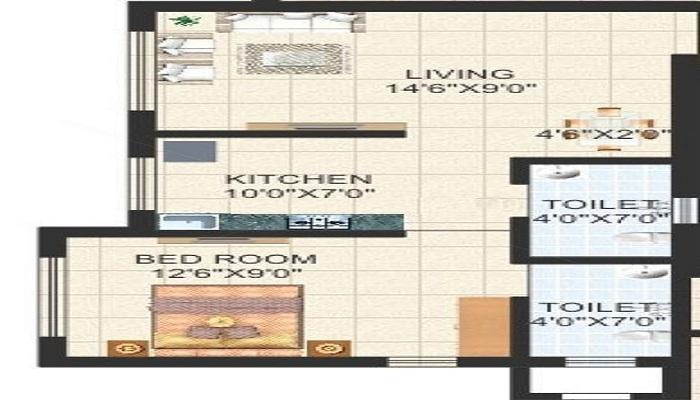 Oswal Dream City Floor Plan
