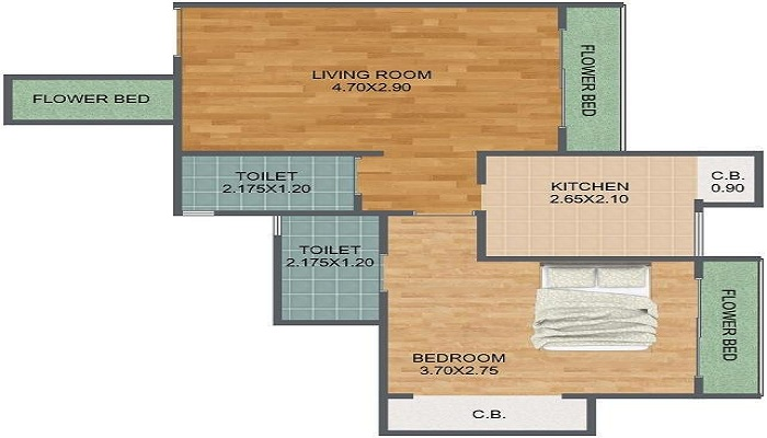 Virat Green Avenue Floor Plan