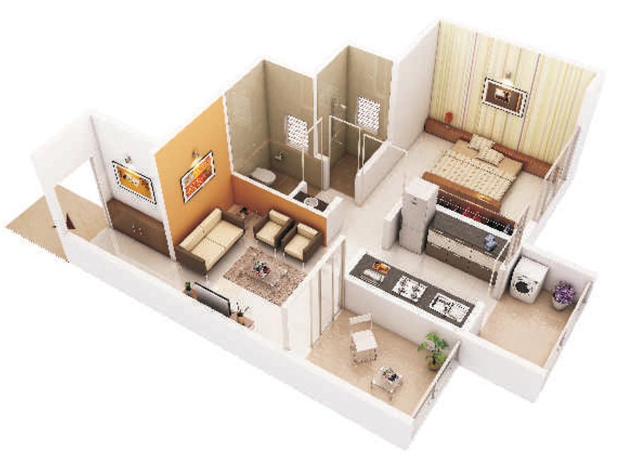 Devkrupa Rachana Residency Floor Plan