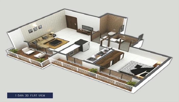 Shreeji Corner Floor Plan