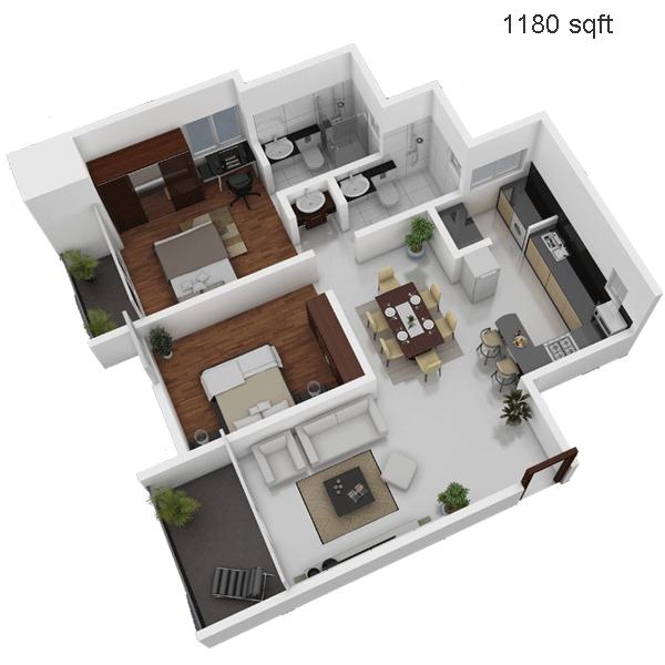 Neumec Interlude Floor Plan