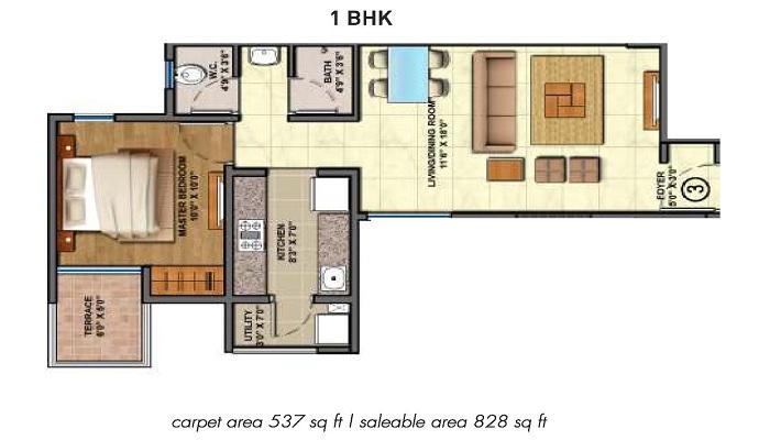Lodha The Rise Floor Plan