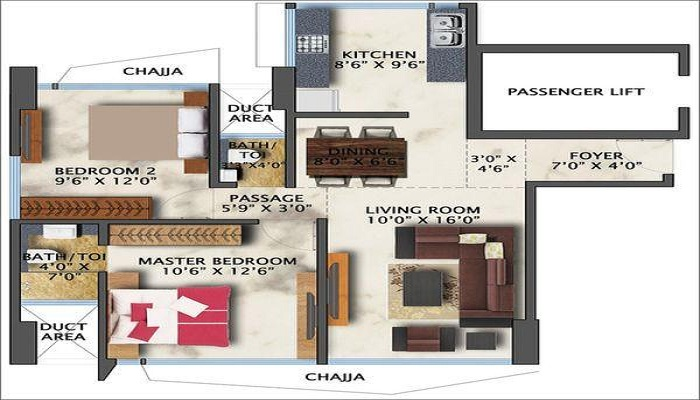 Surya Gokul Dream Floor Plan