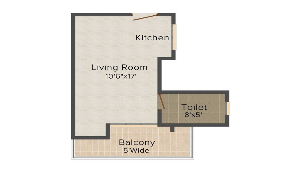 Ajnara Vice Royale Floor Plan