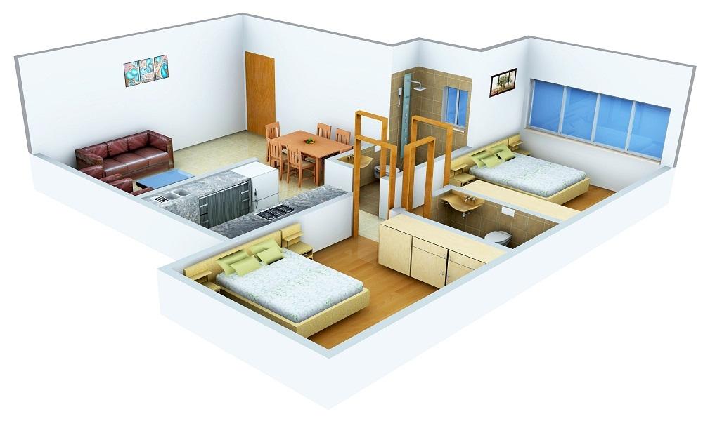 Assotech Windsor Greens Floor Plan