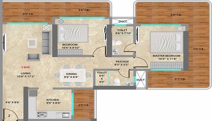 Neumec Overture Floor Plan