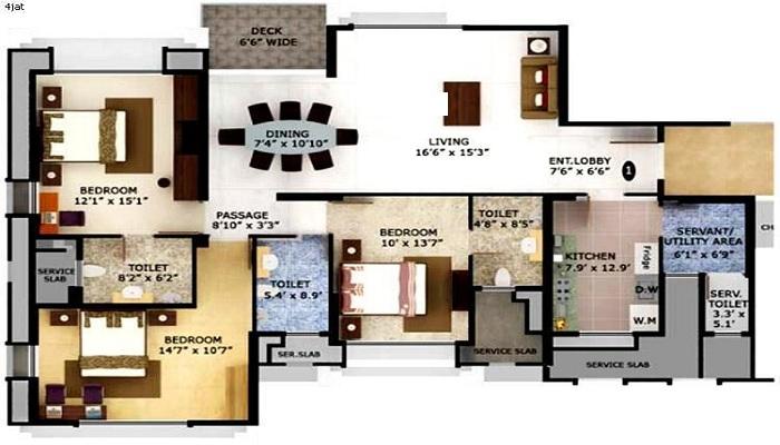 Mahindra Lifespaces Eminente Floor Plan