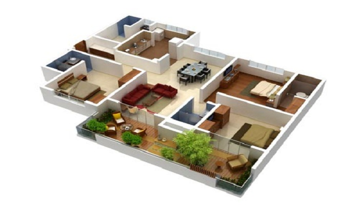Mahindra Lifespaces Belvedere Court Floor Plan