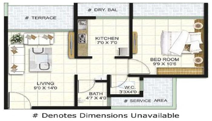 Steel City Avenue Floor Plan
