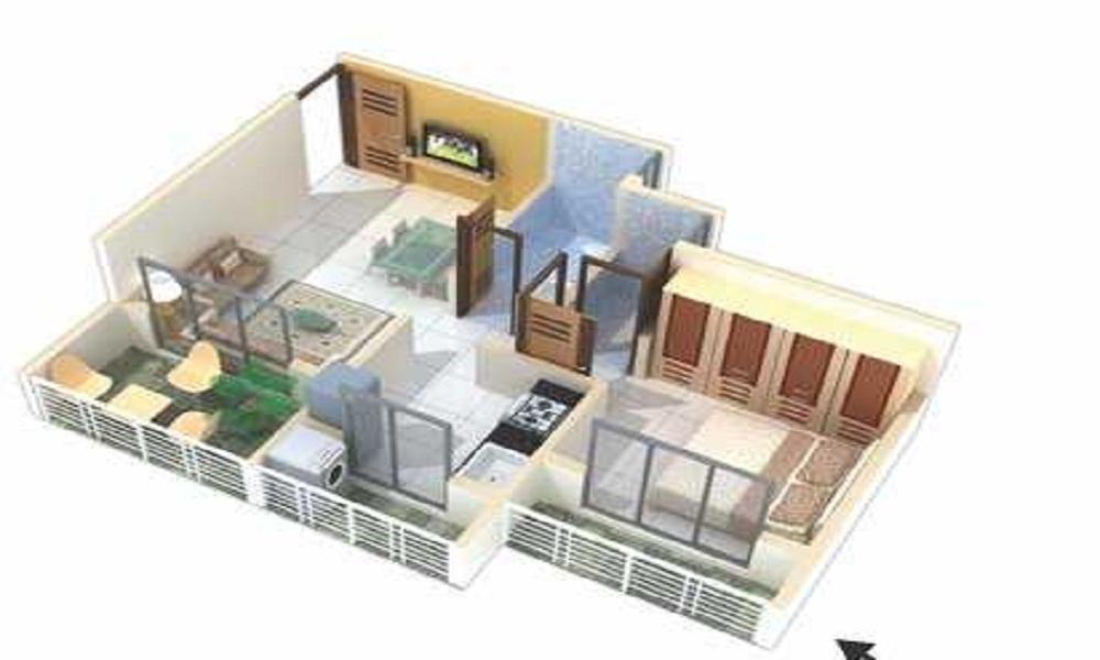 Devkrupa Dev Drishti Complex Floor Plan