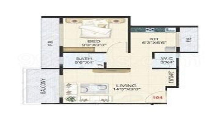 Devkrupa Dev Samruddhi Floor Plan