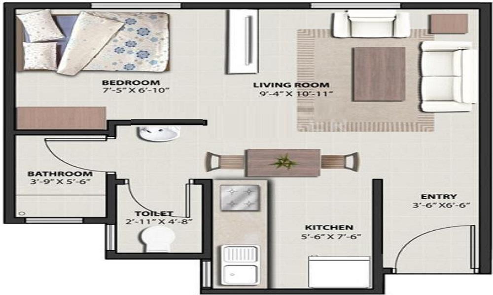 Tata Shubh Griha Floor Plan