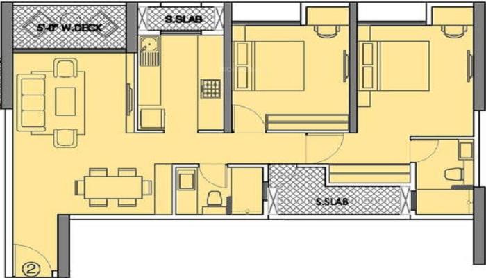 4th Apple Solitaire Floor Plan