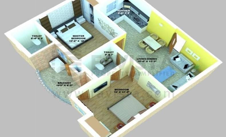 Bhagwati Hari Heights Floor Plan
