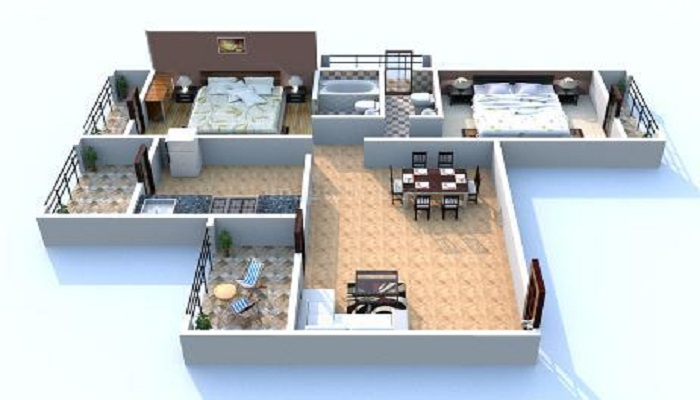 Kamdhenu Oaklands Floor Plan