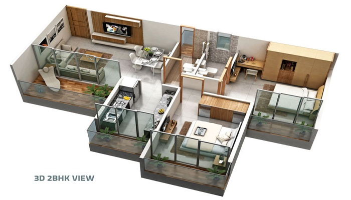 Shreeji Maple Carniva Floor Plan