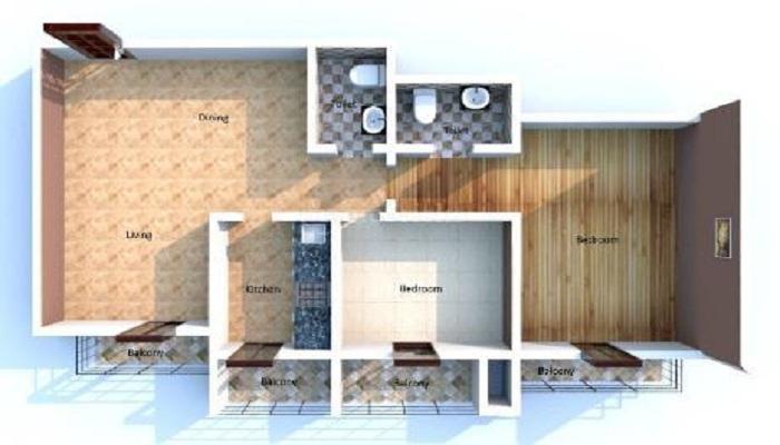Shree Khushi Residency Floor Plan